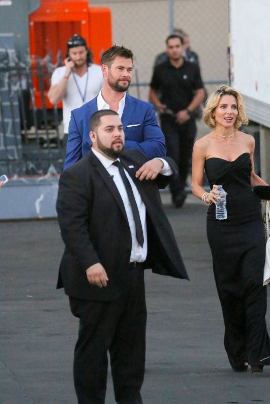 ELSA PATAKU at Jimmy Kimmel Live in Los Angeles 10/10/2017