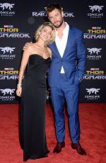 ELSA PATAKY and Chris Hemsworth at Thor: Ragnarok Premiere in Los Angeles 10/10/2017