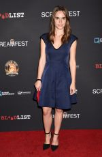 EMA HORVATH at Dead Ant Premiere in Los Angeles 10/10/2017