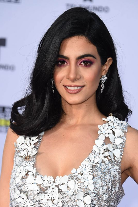 EMERAUDE TOUBIA at 2017 Latin American Music Awards in Hollywood 10/26/2017
