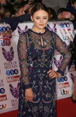 EMILY ATACK at Pride of Britain Awards 2017 in London 10/30/2017