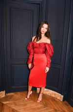 EMILY RATAJKOWSKI at CFDA and Vogue Fashion Fund Americans in Paris Cocktail in Paris 09/30/2017