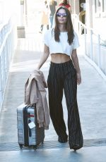 EMILY RATAJKOWSKI at LAX Airport in Los Angeles 10/16/2017