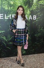 EMILY ROBINSON at Elie Saab Fashion Show in Paris 09/30/2017