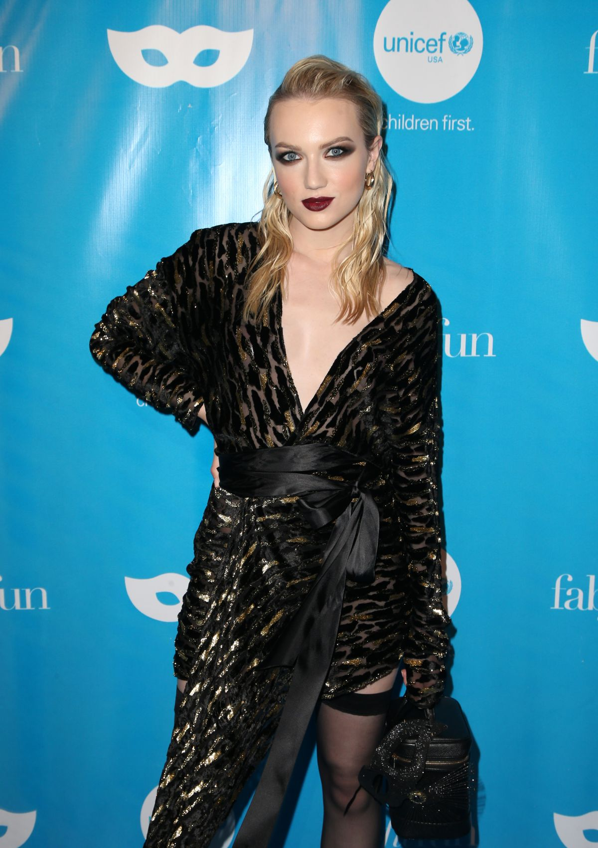 EMILY RUHL at Unicef Next Generation Masquerade Ball in Los Angeles ...