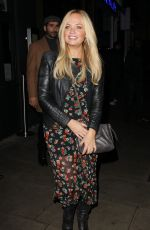 EMMA BUNTON Leaves a Restaurant in London 10/07/2017