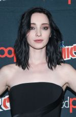 EMMA DUMONT at The Gifted Press Line at Comic-con in New York 10/08/2017