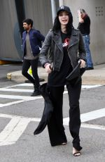EMMA DUMONT Out at New York Comic-con 10/08/2017