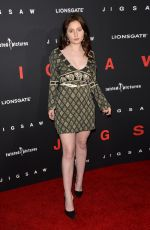 EMMA KENNEY at Jigsaw Premiere in Los Angeles 10/25/2017