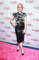 EMMA MYLES at Breast Cancer Research Foundation Symposium and Awards Luncheon in New York 10/19/2017