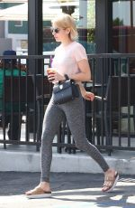 EMMA ROBERTS at a Coffee Bean in Hollywood 10/02/2017