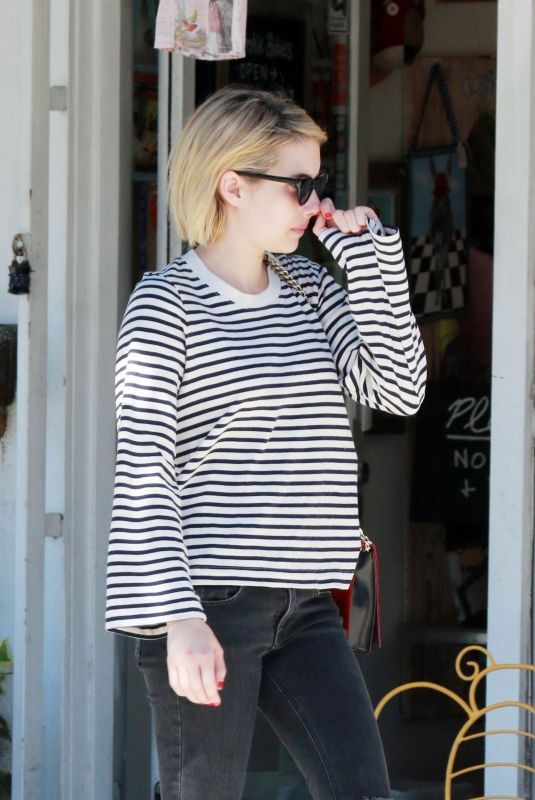 EMMA ROBERTS at Joan