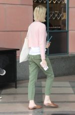 EMMA ROBERTS Leaves Anastasia Beverly Hills Cosmetics & Beauty in Beverly Hills 10/03/2017