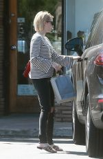 EMMA ROBERTS Leaves Emerald Forest Gifts in Studio City 10/05/2017