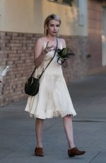 EMMA ROBERTS Out and About in Los Angeles 10/27/2017