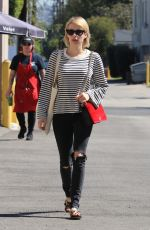 EMMA ROBERTS Out and About in Studio City 10/05/2017