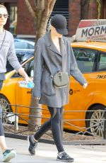 EMMA STONE Heading to a Gym in New York 10/22/2017