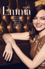 EMMA STONE in F Magazine, November 2017