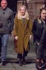 EMMA STONE on the Set of Maniac in New York 10/18/2017