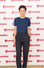 EMMA WILLIS at Lorraine Show in London 10/13/2017