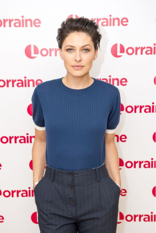 EMMA WILLIS at Lorraine Show in London 10/13/2017