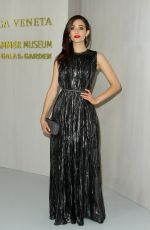 EMMY ROSSUM at Hammer Museum Gala in the Garden Honoring Ava Duvernay in Los Angeles 10/14/2017