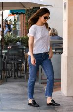 EMMY ROSSUM Out and About in Beverly Hills 10/02/2017