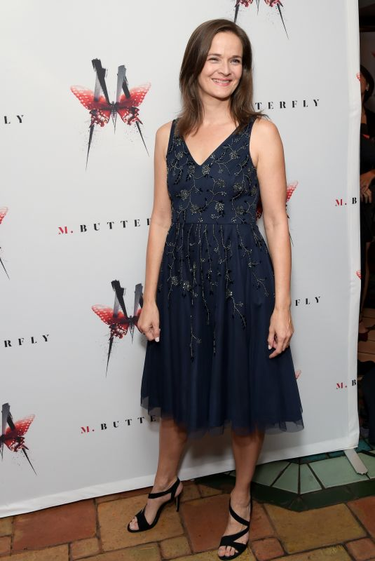 ENID GRAHAM at M. Butterfly Broadway Opening Night After-party in New York 10/26/2017