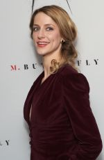 ERICA SWEANY at M. Butterfly Broadway Opening Night After-party in New York 10/26/2017