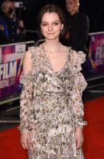 ESME CREED-MILES at Dark River Premiere at 2017 BFI London Film Festival 10/07/2017