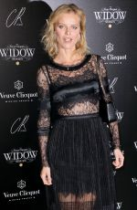EVA HERZIGOVA at Veuve Clicquot Widow Series VIP Launch Party in London 10/19/2017