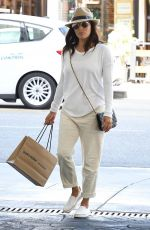 EVA LONGORIA Out in Beverly Hills 10/03/2017