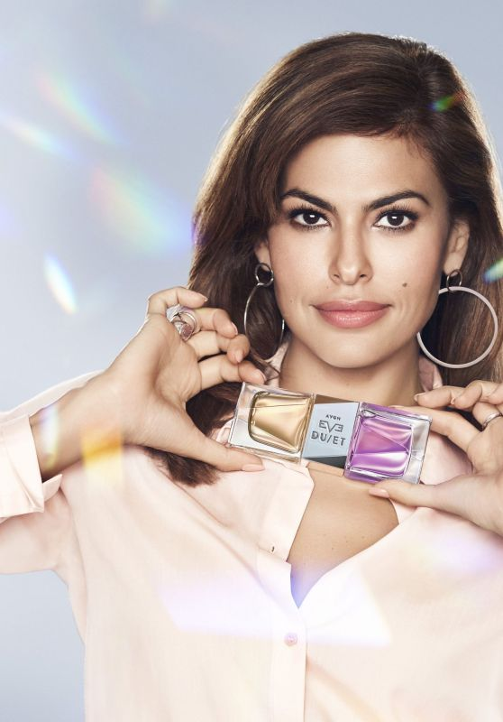 EVA MENDES for Avon Eve Duet Fragrance, 2017