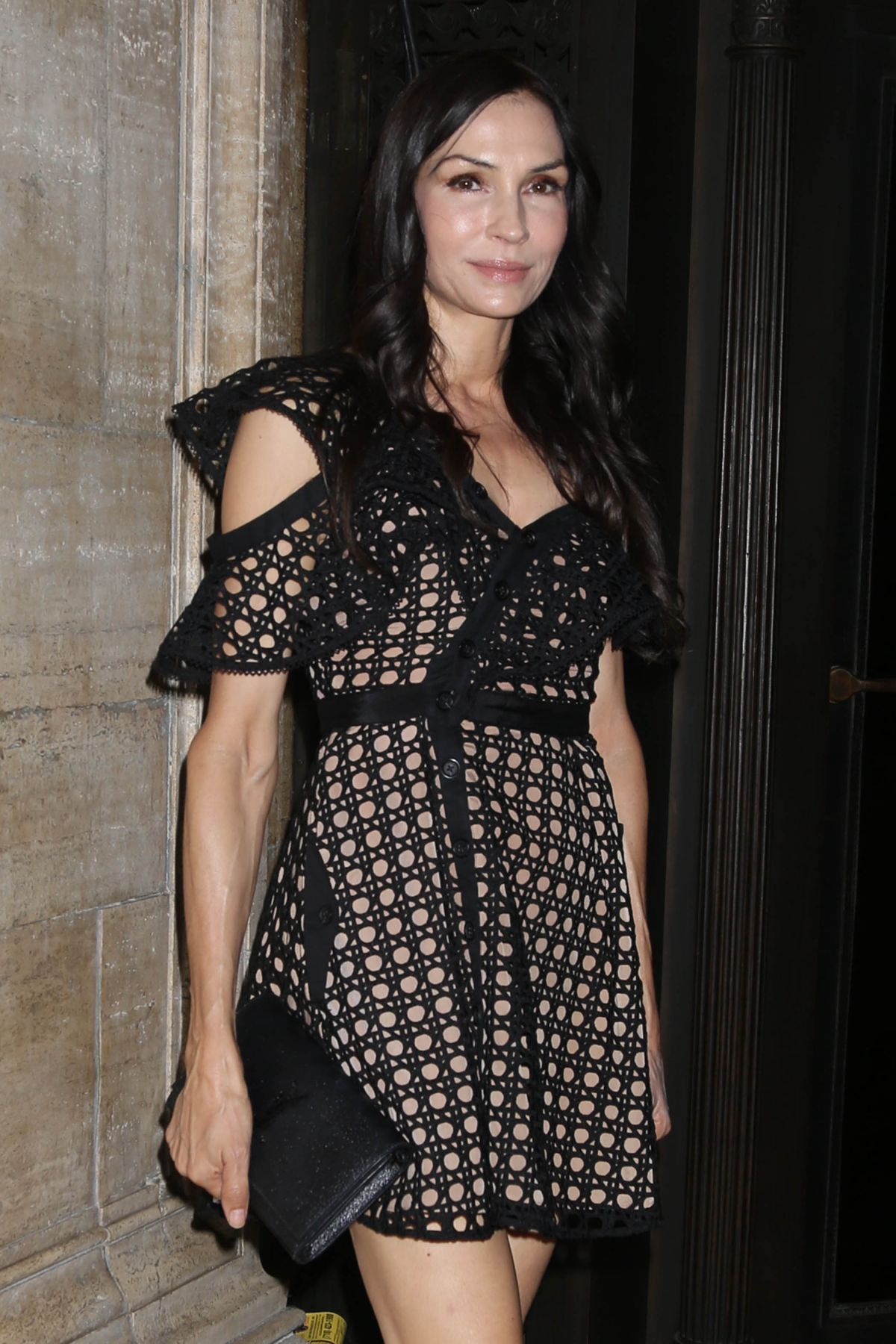 FAMKE JANSSEN at Skin Cancer Foundation's Champions for ...