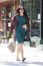 FAMKE JANSSEN Out and About in New York 10/05/2017