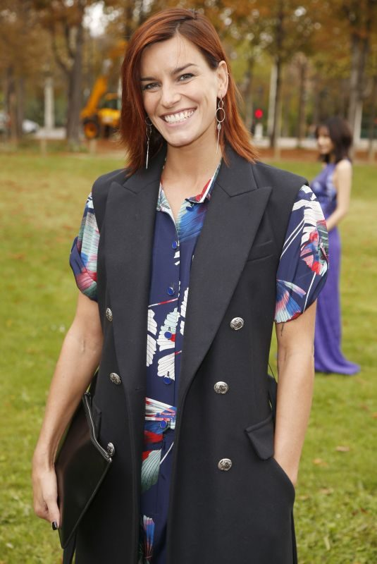 FAUVE HAUTOT at Leonard Paris Fashion Show in Paris 10/02/2017