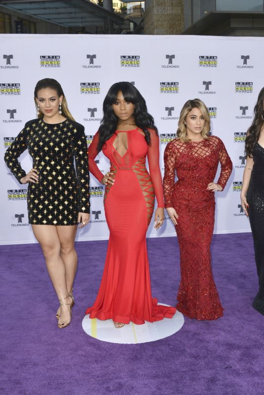 FIFTH HARMONY at 2017 Latin American Music Awards in Hollywood 10/26/2017