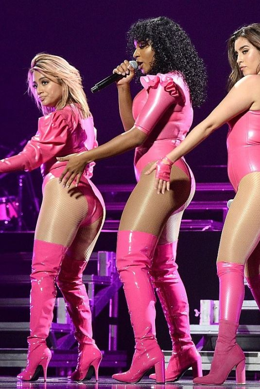 FIFTH HARMONY Performs at Tidal X: Brooklyn' Benefit Concert in New York 10/17/2017