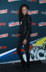 FIOLA EVANS-AKINGBOLA at Siren Panel at New York Comic-con 10/07/2017