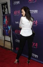 FRANCESESCA EASTWOOD at M.F.A. Screening in Los Angeles 10/02/2017