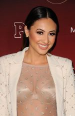 FRANCIA RAISA at People's Ones to Watch Party in Los Angeles 10/04/2017