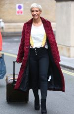 FRANKIE BRIDGE Out and About in London 10/13/2017