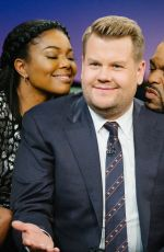 GABRIELLE UNION at Late Late Show with James Corden 10/23/2017