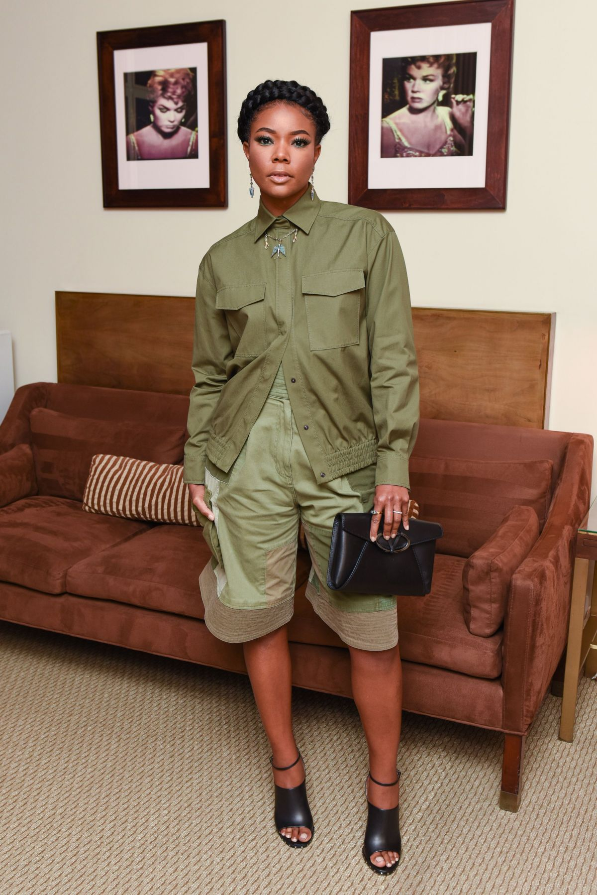 Gabrielle Union At Valentino And Instyle Cocktail Party In Los  # Gabriela Gez Muebles