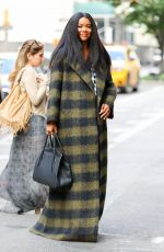 GABRIELLE UNION Out and About in New York 10/13/2017