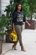 GABRIELLE UNION Out in New York 10/16/2017