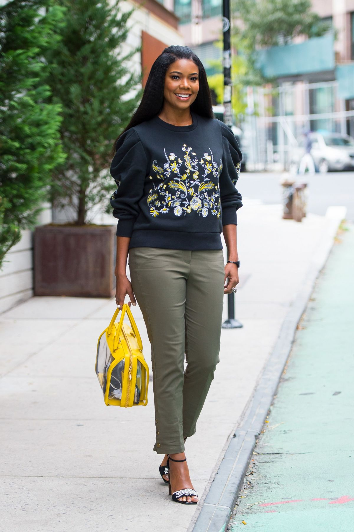 Gabrielle Union Out In New York 10 16 2017 Hawtcelebs