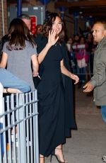 GAL GADOT Arrives at 92Y in New York 10/01/2017