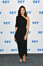 GAL GADOT at In Conversation Series at 92nd Street y in New York 10/01/2017
