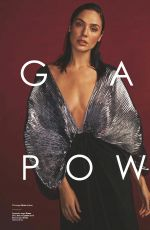 GAL GADOT in Glamour Magazine, UK December 2017